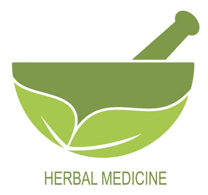 Are there alternative herbal antibiotics, like iodine drops, that have been proven effective?