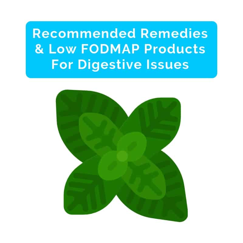 Best Remedies, Medicine, & Low FODMAP Products For Stomach Pain and IBS- square